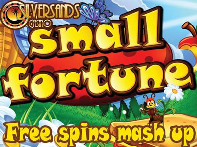 Small Fortune Free Spins Mash Up At Silversands Casino