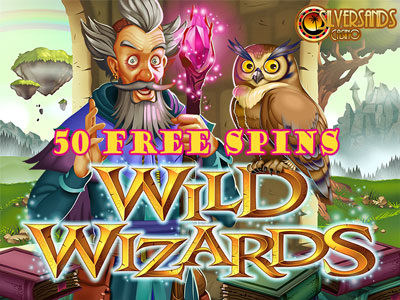 Get 50 Free Spins On The Magical Wild Wizards Slot During December At Silversands Casino