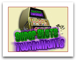 Super Slots Tournament Promotion at Silversands Casino.